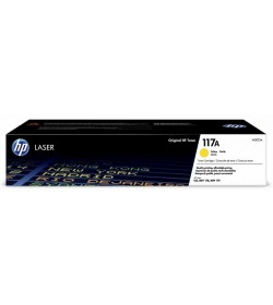 HP 117A Yellow Original Laser Toner Cartridge W2072A