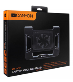 """Canyon Laptop Cooling Stand Βάση για laptop έως 17""""  CNR-FNS01"""
