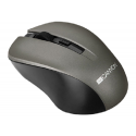 Canyon Wireless Simple coloured mouse Grey - CNE-CMSW1G