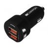 Φορτιστής Αυτοκινήτου Canyon Dual USB Car Charger 2 Χ USB,  2.4A  CNE-CCA04B