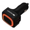 Φορτιστής Αυτοκινήτου Canyon Dual USB 4 Χ USB, 4.8A CNE-CCA05B