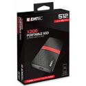 Emtec Εξωτερικός Σκληρός Δίσκος SSD 3.1Gen1 X200 512GB Portable