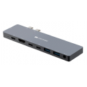 Canyon Thunderbolt 3 docking station 8-in-1 MacBook only SILVER CNS-TDS08DG