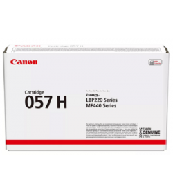 Toner Laser Canon Crtr CRG 057H Black High Capacity - 10K Pgs 3010C002