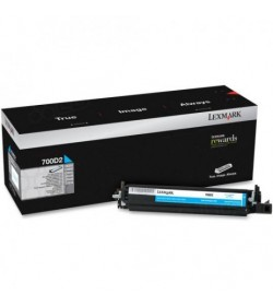 Developer Unit Laser Lexmark 70C0D20 Cyan -40k Pgs