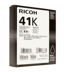 22 Color Laser Ricoh 22GC41K 405761 Black 2.5k Pgs