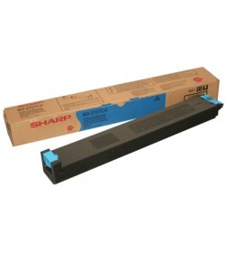 Toner Copier Sharp MX-27GTCA Cyan - 15k Pgs