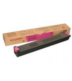 Toner Copier Sharp MX-27GTMA Magenta - 15k Pgs
