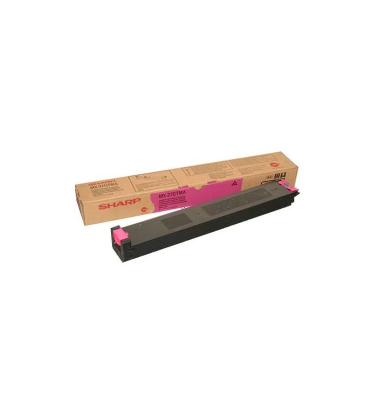 Toner Copier Sharp MX-27GTMA Magenta - 15k Pgs