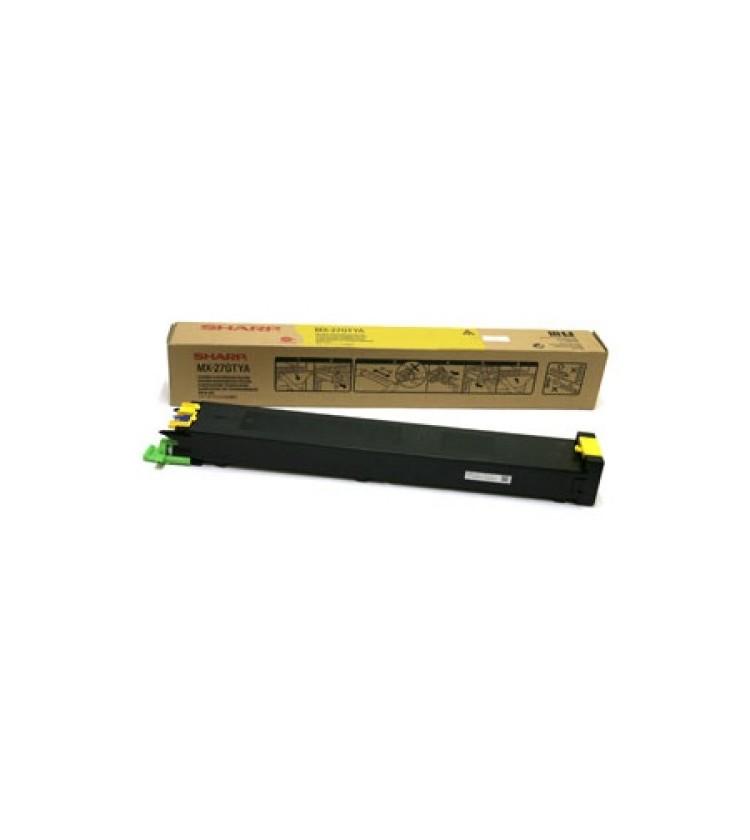 Toner Copier Sharp MX-27GTYA Yellow - 15k Pgs