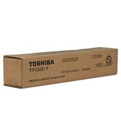 Toner Laser Printer Toshiba Estudio TFC-55EY Yellow