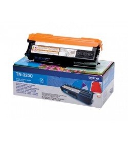 Toner Laser Brother TN-320C Cyan - 1.5K Pgs
