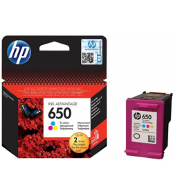 Ink HP No 650 Tri-Color Ink Crtr