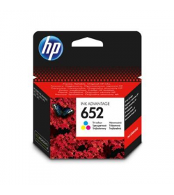 Ink HP No 652 Tri-Color Ink Crtr 200pgs