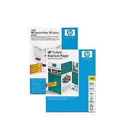 Brochure and Flyer Paper HP Gloss A4 50Shts 160g (Tri-fold)