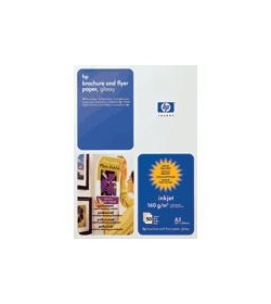 Brochure and Flyer Paper HP Gloss A3 50Shts 180g