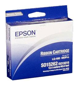 Ribbon Epson C13S015262 Black