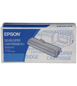 Developer Laser Epson C13S050167 Black 3K Pgs
