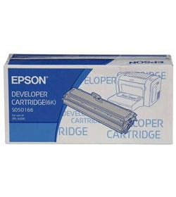 Developer Laser Epson C13S050166 Black 6K Pgs