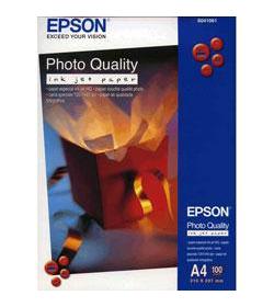 Photo Quality Inkjet Paper Epson Matt A4 100Shts 102g