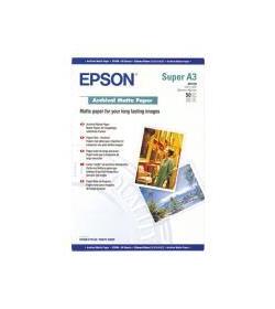 Archival Paper Epson Matt A3+ 50Shts 192g