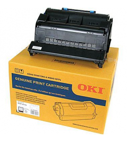 Toner Laser Oki 45488802 and Drum Black - 18K Pgs